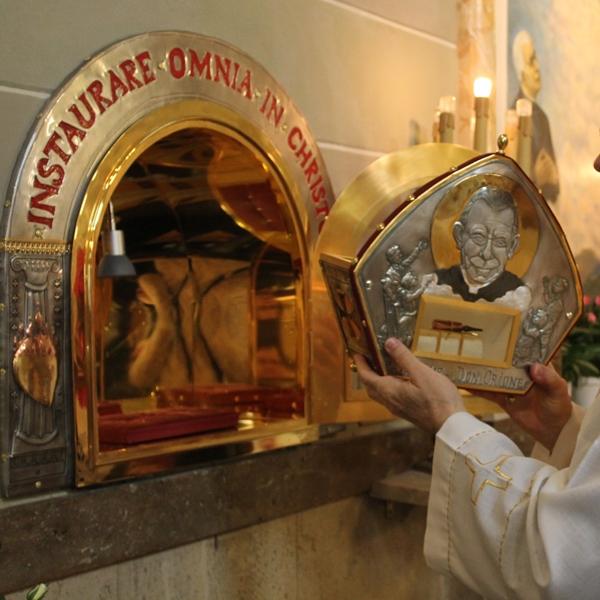 Sanremo – Reliquia sangue di San Luigi Orione