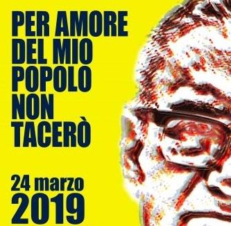 24 marzo – per amore del mio popolo non tacerò!
