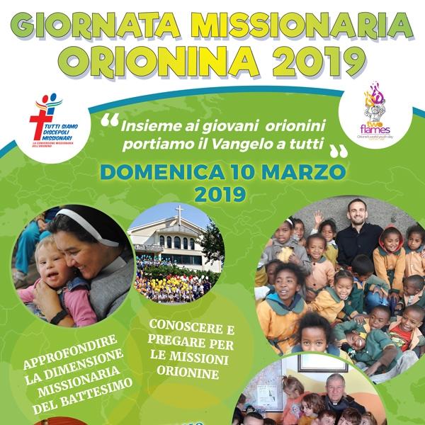 Giornata Missionaria Orionina 2019