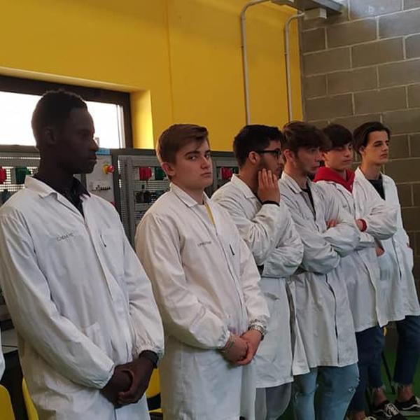 Fano – Pirelli visita la scuola Don Orione