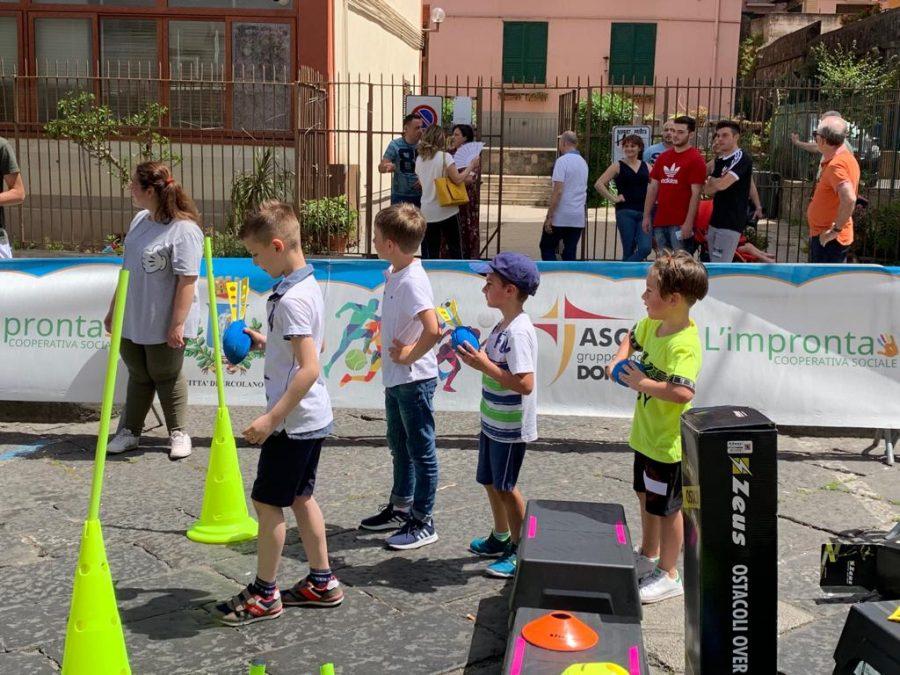 Ercolano – Sport e inclusione in piazza