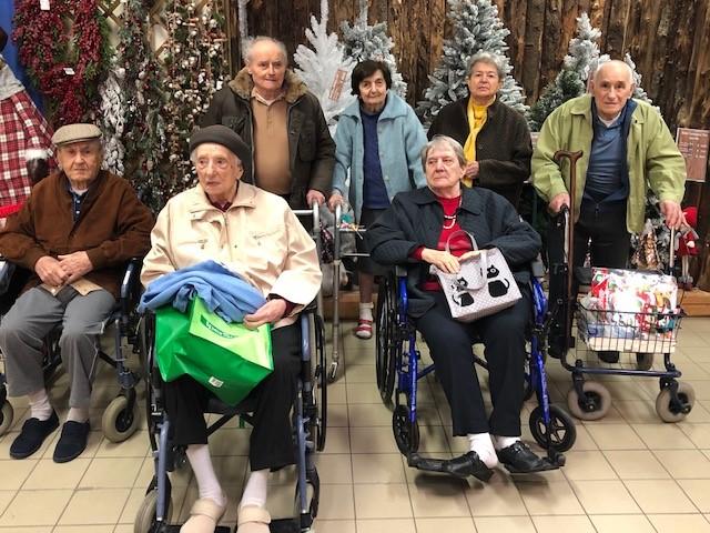 Fumo – RSA in visita al Villaggio di Natale