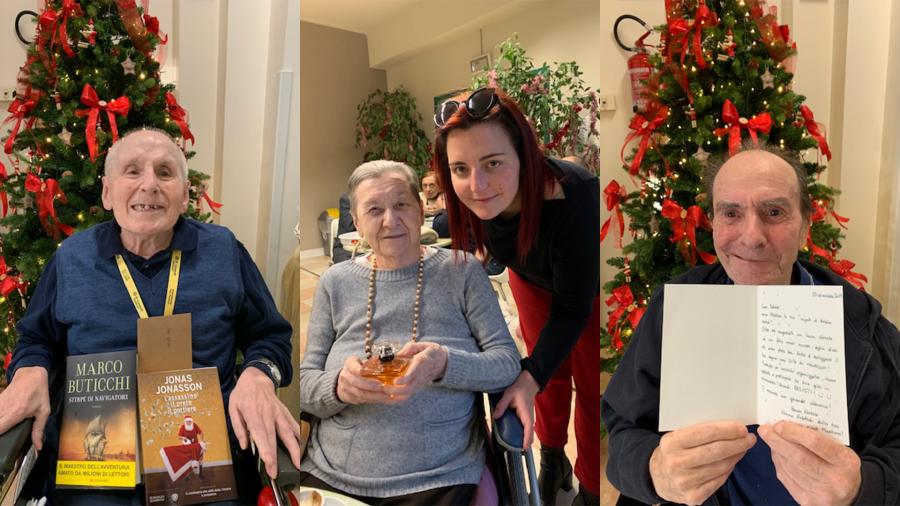 Bergamo – Sono arrivati i nipoti di Babbo Natale