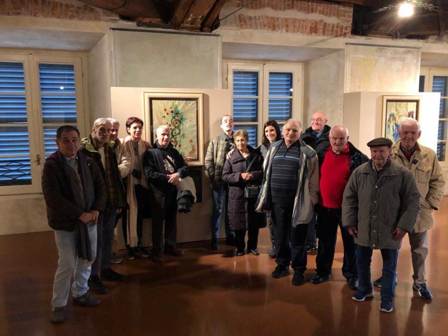 Seregno – Gruppo Culturale alla mostra Royal Dalì