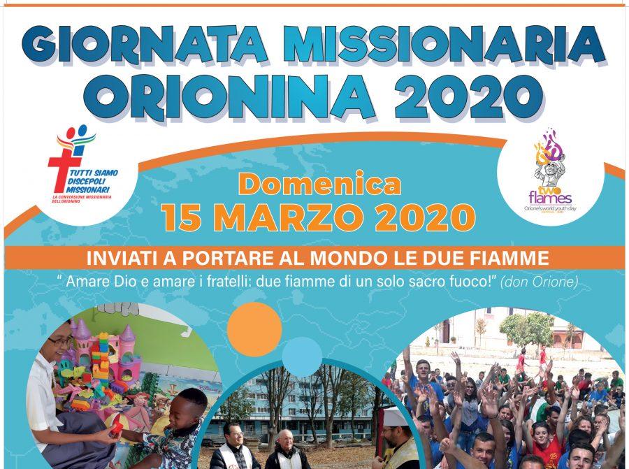 15 marzo – Giornata missionaria orionina