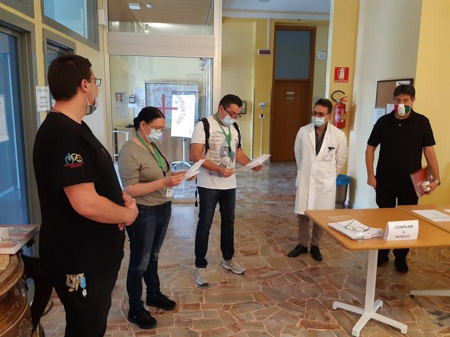 Milano – Un aiuto dalla Provvidenza e dalla Protezione Civile
