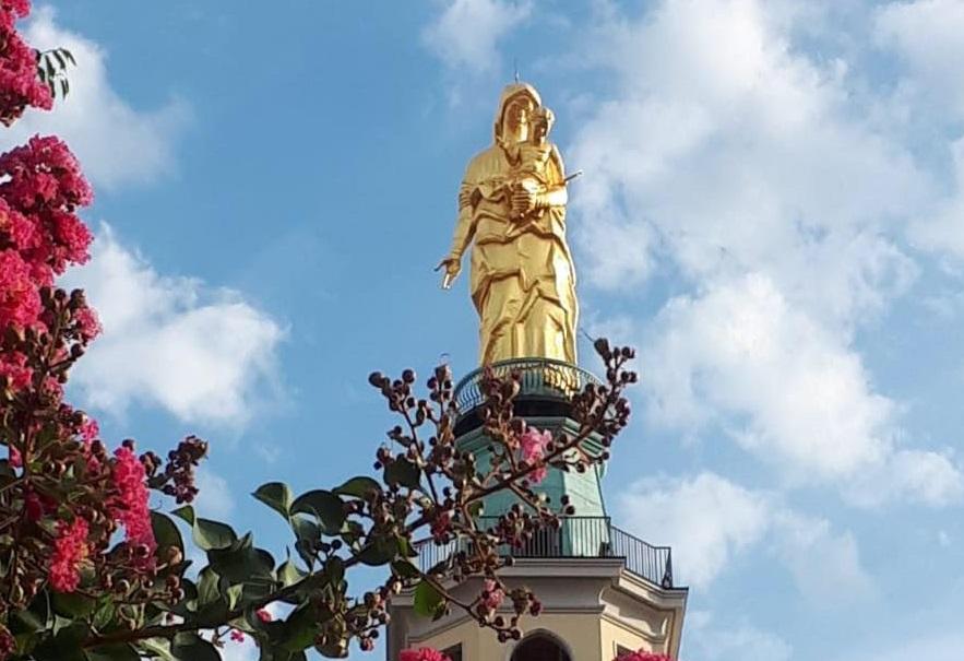 Tortona – Dall'alto della torre una preghiera e la benedizione