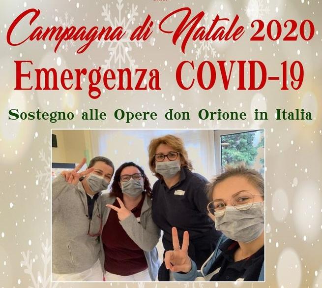 Campagna di Natale a favore delle Opere orionine italiane