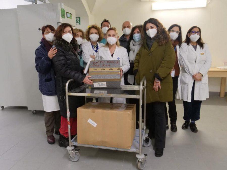 Roma – Il Centro Don Orione tra i primi a somministrare il vaccino
