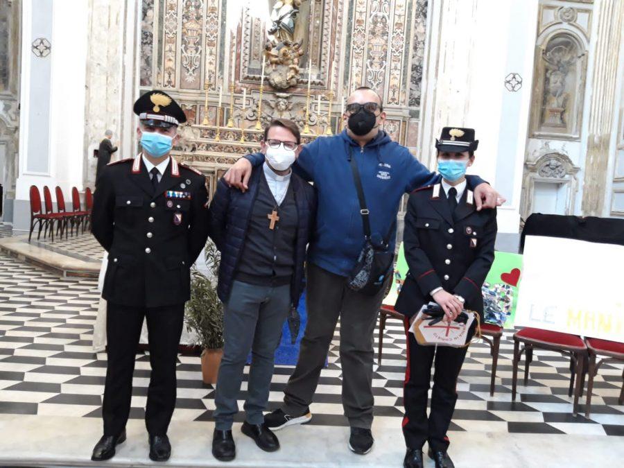 Napoli – Grazie amici Carabinieri!